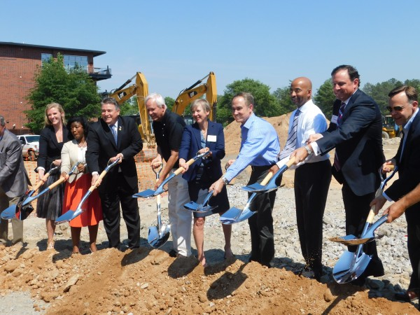 On May 10, the city of Chamblee and MARTA officials held a groundbreaking ceremony for Trackside, a transit oriented development located adjacent to the Chamblee station MARTA rail line.