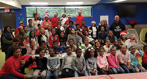 A Breakfast With Santa for the Boys and Girls Club of East DeKalb served more than 50 children and provided entertainment and cookie decorating along with a visit from Mr. Claus.