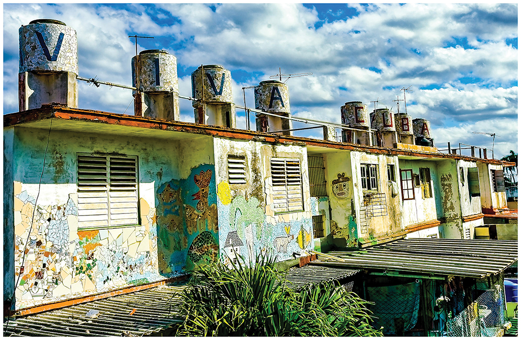 Artistic inspiration found during Cuba travels