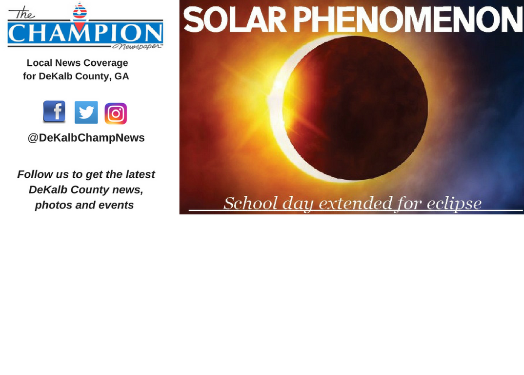 School day extended for eclipse