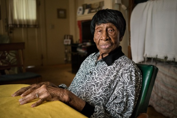 Willie Mae Hardy, 109, will be honored at this year's Hometown Country Cookout as a local legend.