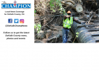 The large tree shown above was growing out of a concrete sewer box, causing the Aug. 23 spill into Snapfinger Creek.