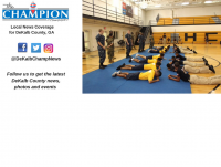 Cross Keys High School's NJORTC program recently competed at a drill meet in Henry County where it claimed a third place trophy. Photo submitted