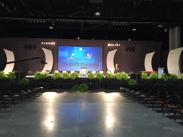 DeKalb County School District announced plans on Oct. 30, to hold high school graduations at the Georgia World Congress Center for the second consecutive year.