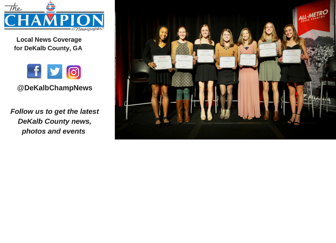 Cross country runners honored by Atlanta Track Club