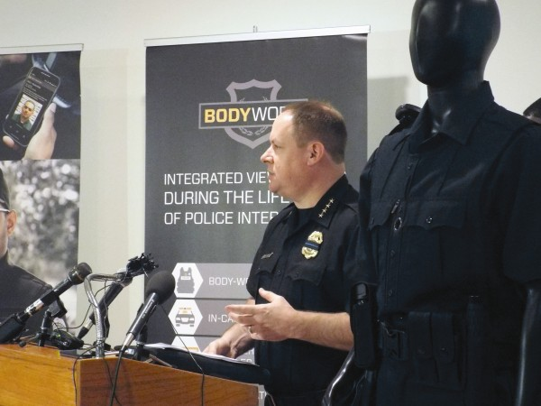 The DeKalb County Police Department will receive approximately 200 body cameras for officers. DeKalb officials and Utility Associates announced the partnership in July of 2016. File photo