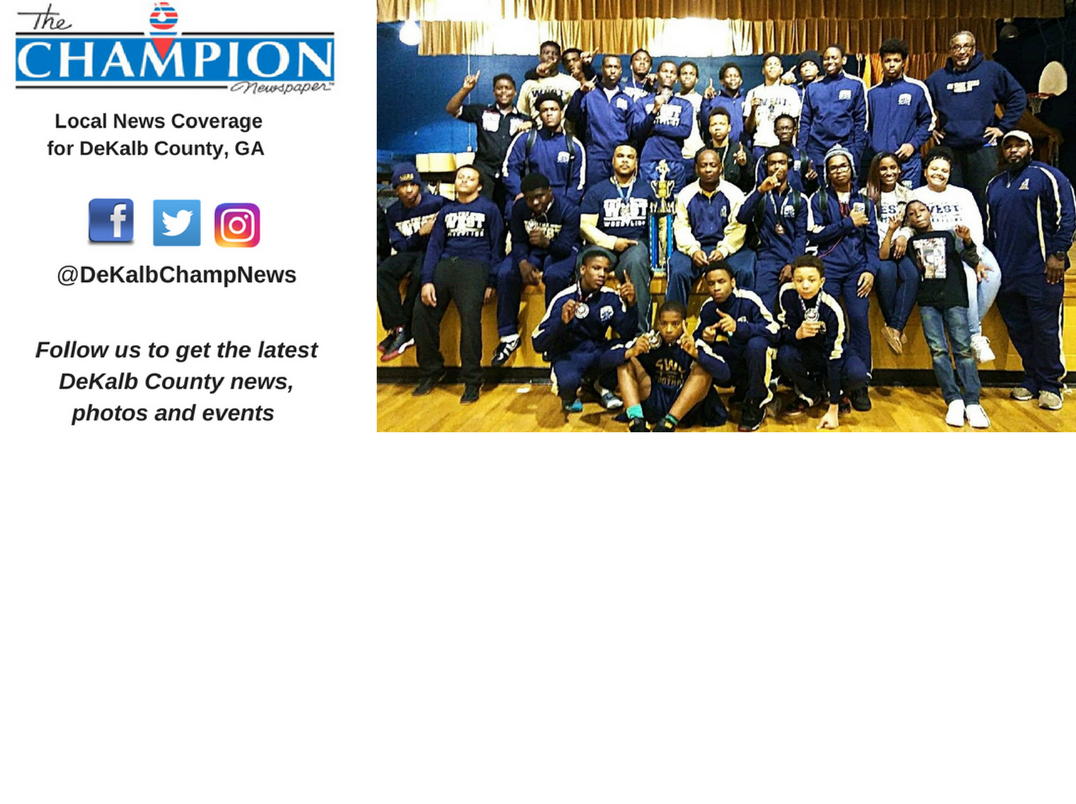 S.W. DeKalb wins second consecutive county JV wrestling title
