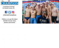 The St. Pius X Golden Lions won its second consecutive state swimming and diving title.