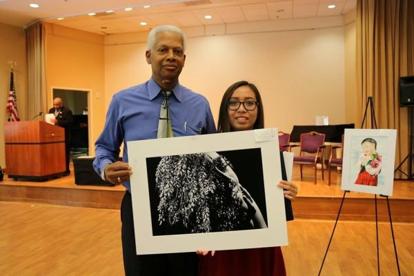 Michelle Carmona, a senior from Brookwood High School in Gwinnett County, won the 2017 Georgia Fourth District Congressional Art Competition.