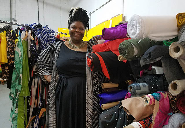 Designer of plus-size fashions celebrates 10 year mark
