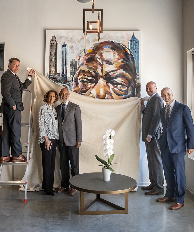 Law firm commissions art to honor congressman/civil rights ...